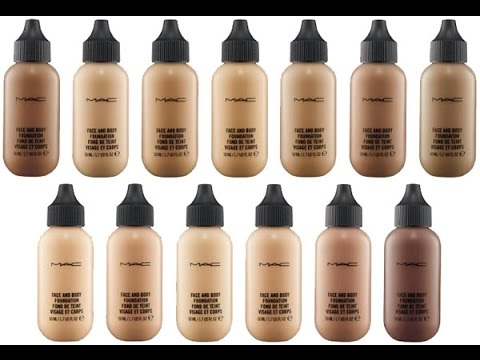 MAC Face & Body Foundation   First Impression + Review