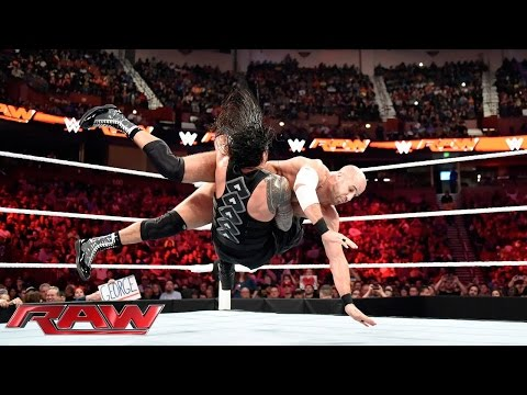 Roman Reigns Vs. Cesaro – WWE World Heavyweight Championtitel Turnier: Raw – 16. November 2015