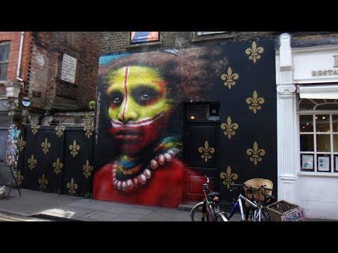 Shoreditch Street Art Tour London 2017