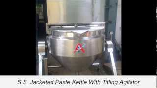 Starch Paste Kettle, Jacketed Kettle, Ss Kettle, Ss Jacketed Paste Kettle, 9998252299