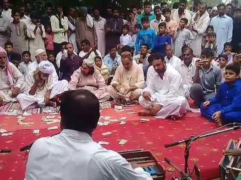 wajahat ali kalay khan qawwal urs peer syed sharaf ali shah 7 chak aheeran sazeena .part.2