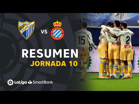 Malaga Espanyol Goals And Highlights