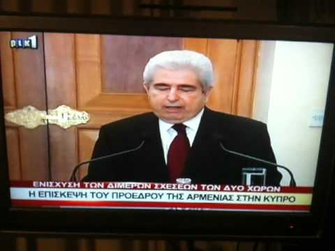 President of Armenia Serzh Sargsyan in Cyprus RIK Report 1