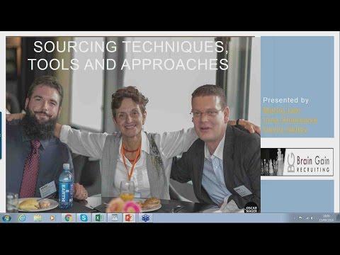 Webinar - Candidate Sourcing Best Practices Showcase