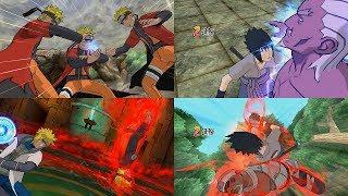 Naruto Shippuden Gekito Ninja Taisen Special - All Ultimate Jutsu Ougi 1080p 60 FPS