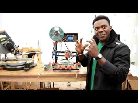 African Born 3D Printing