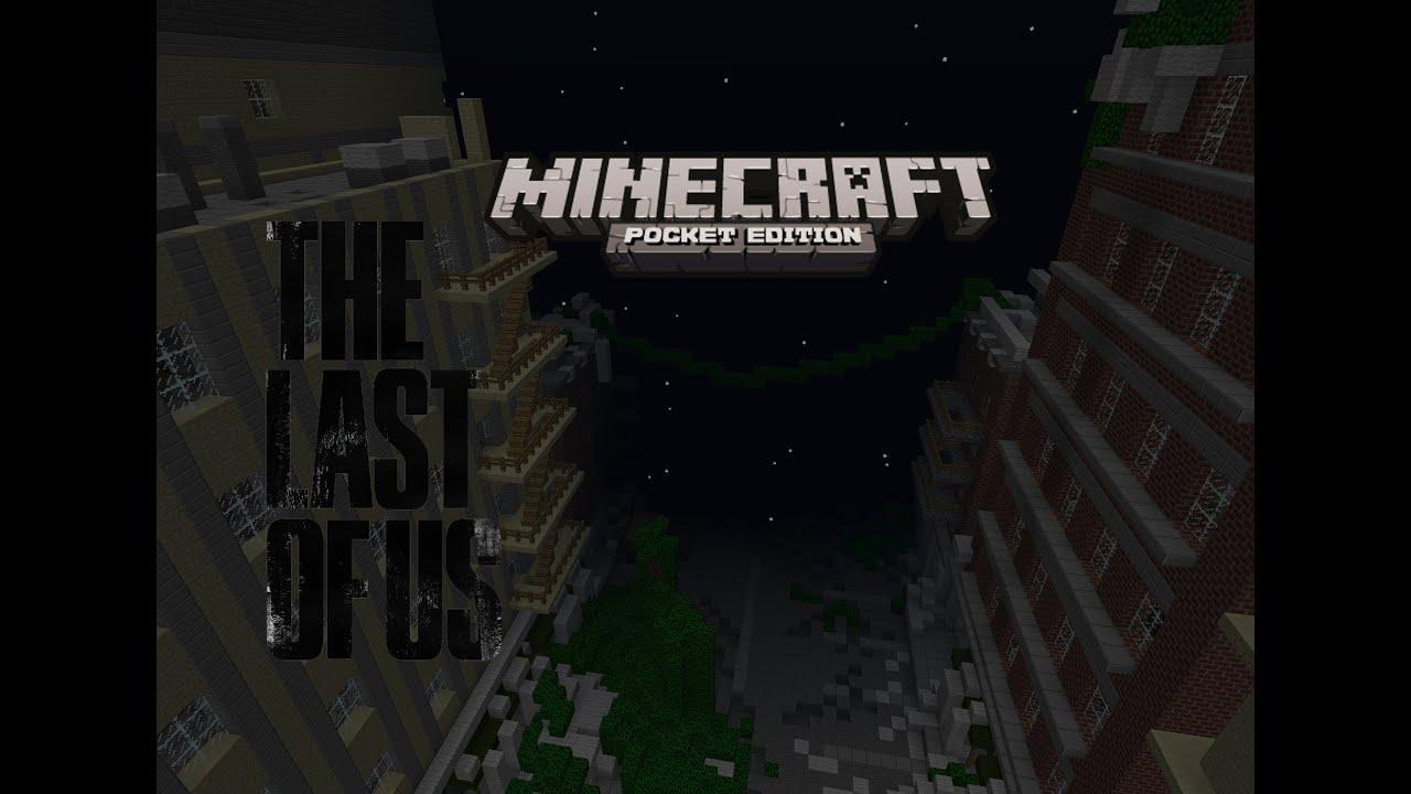 Minecraft Adventure Map The Last Of Us YouTube The Last Of Us - Minecraft last of us map