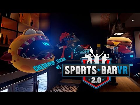 Sportsbar VR 2.0 Is Finally Here | PSVR PSX 2017 Info | New ALVO Screenshots | Try PSVR FREE at Home