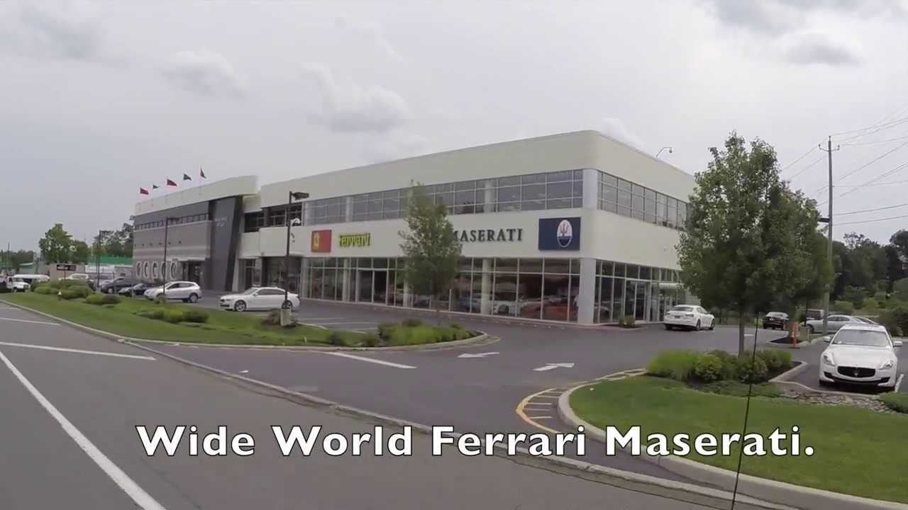Welcome To Wide World Ferrari Maserati Spring Valley Ny Youtube
