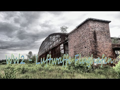 Abandoned; WW2 Luftwaffe German Military Airbase