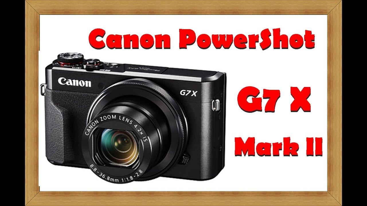 Canon Powershot G7 Mark Black