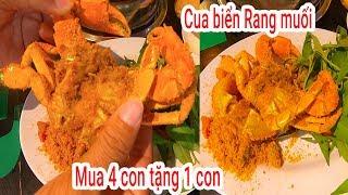 Ăn thử Cua Biển không buộc dây mua 4 con tặng 1 vừa xuất hiện ở Sài Gòn   Dê núi Quý Lộc