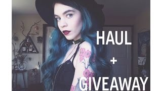 Winter Haul + Giveaway Thumbnail