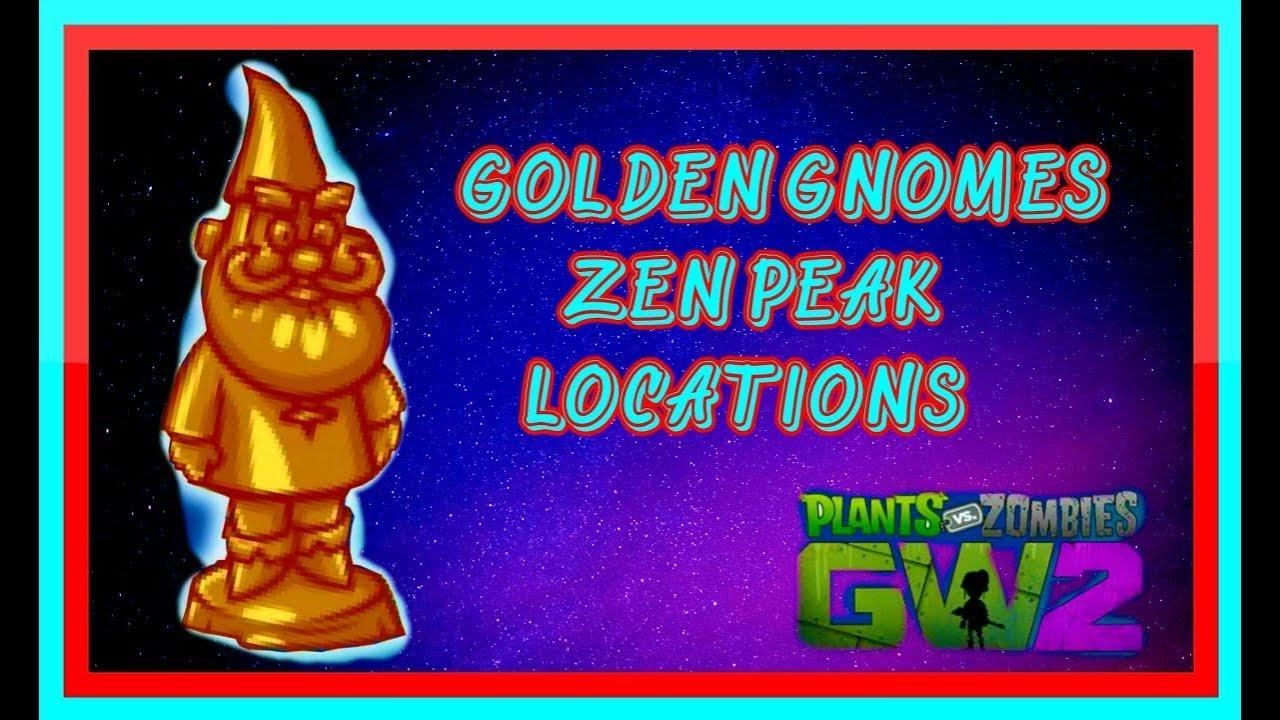 Golden Gnomes Zen Peak Plants Vs Zombies Garden Warfare 2 Youtube