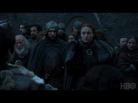Game of Thrones: Season 7 Episode 3 Clip: Sansa and Bran (HBO)