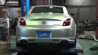 J-WOLF  トヨタソアラSC430切替バルブ付きマフラーフルエキゾースト完成 thumbnail