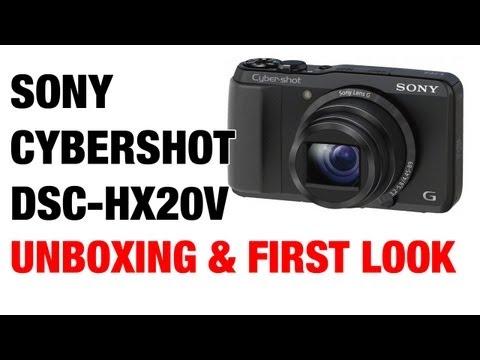 Sony Cybershot DSC-HX20V HX30V Unboxing & First Look