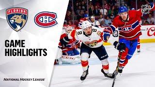 09/19/19 Condensed Game: Panthers @ Canadiens