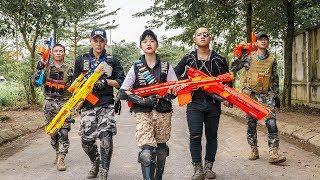 LTT Game Nerf War : Winter Warriors SEAL X Nerf Guns Fight Inhuman Revenge Group Weapons Robbers