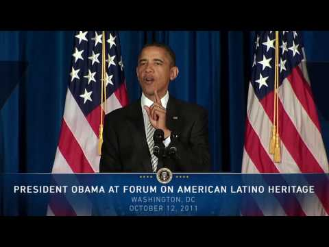President Obama at Forum on American Latino Heritage