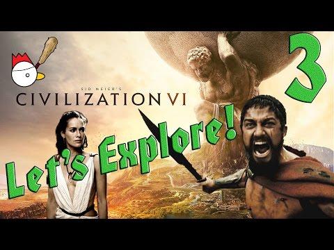 CIVILIZATION VI [ITA] Let's Explore 3# - QUESTA È SPARTAAAAA!
