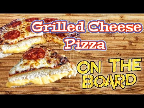 Grilled Cheese Pizza On The Board