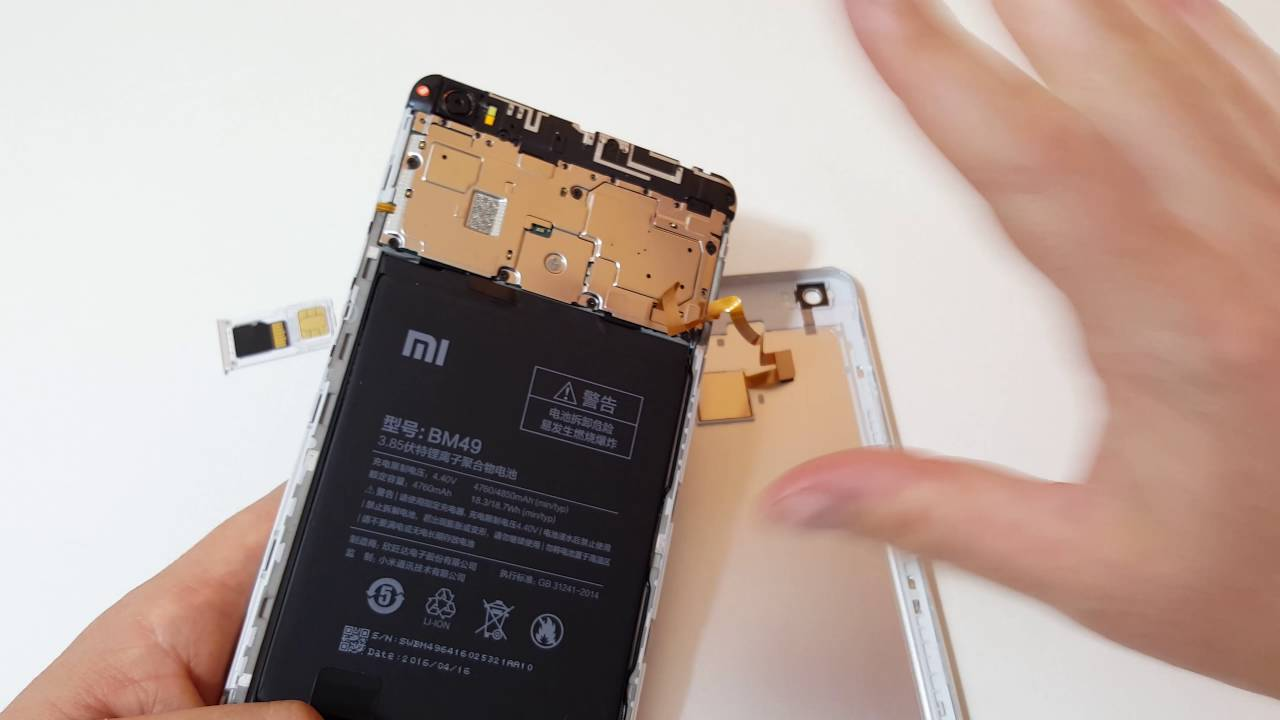 Xiaomi Mi Max Drop Tested Peak At Internals Youtube