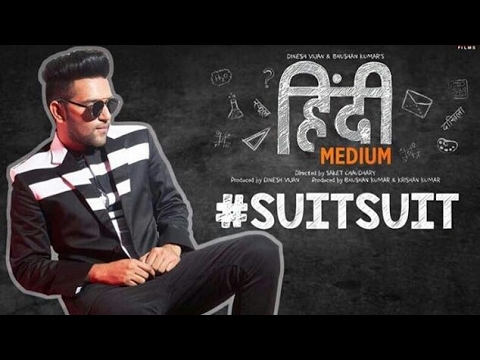 SUIT SUIT | ORIGINAL KARAOKE | GURU RANDHAWA || HINDI MEDIUM | Irfan Khan