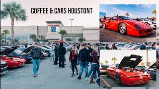 Coffee and Cars Houston รถ หล่อๆ เพียบ