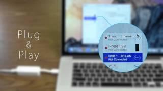 USB 3.0 Gigabit Ethernet Network Adapter
