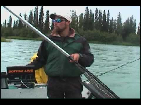 George Gilbert Catching 60lbs King Salmon on the Kenai River at Age 92