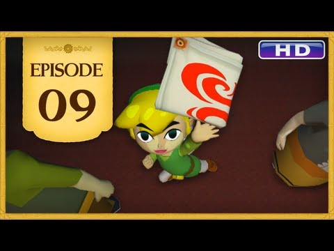The Legend of Zelda: The Wind Waker HD - Episode 09 | Swift Sail