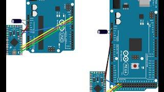 Programando Arduino Pro Mini Com Arduino Mega ou UNO