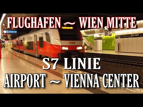 Train S7 From Airport to VIENNA city