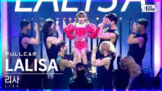 [안방1열 직캠4K] 리사 'LALISA' 풀캠 (LISA Full Cam)│@SBS Inkigayo_2021.09.19.