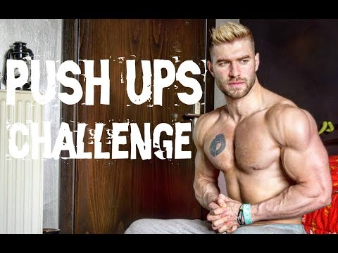 200 κάμψεις μέσα σε 5 λεπτά - Push ups challenge