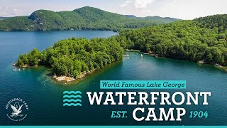 WORLD'S BEST WATERFRONT CAMP - Adirondack Camp on Lake George