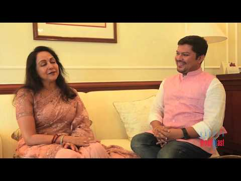 In conversation with Hema Malini & Ramkamal Mukherjee