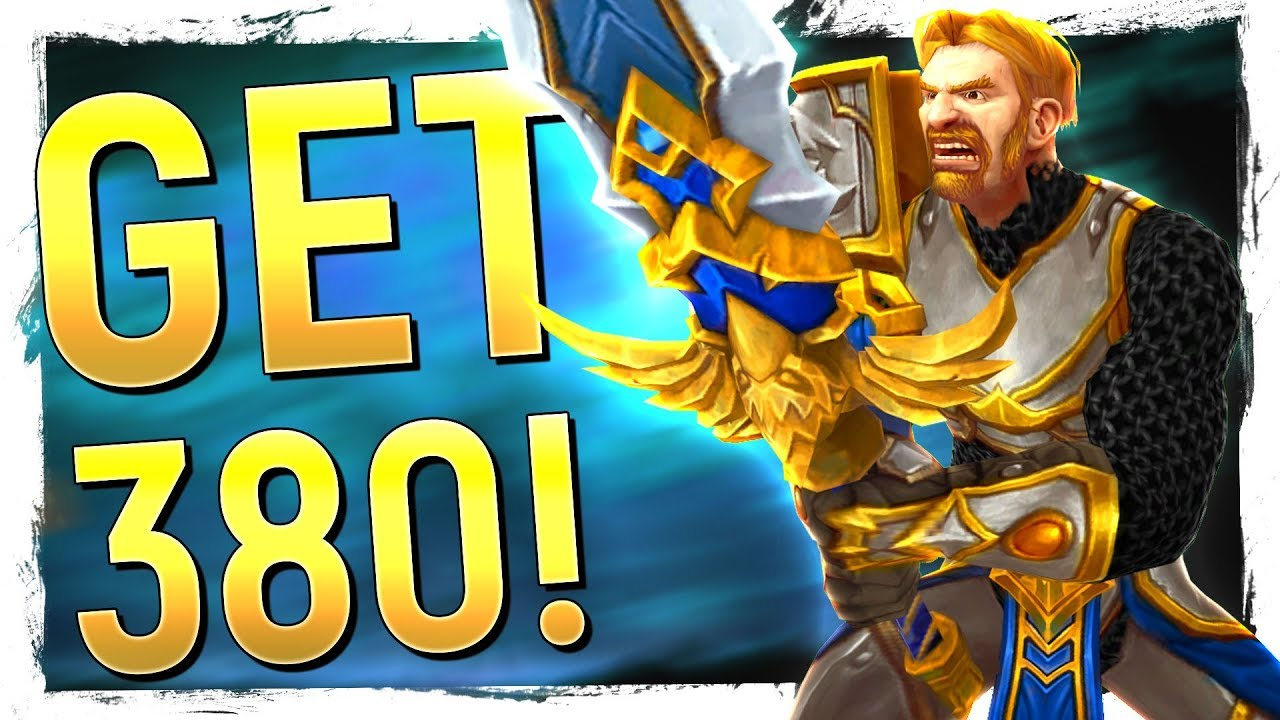 HOW TO GEAR To iLvl 380+ FAST: Battle for Azeroth Gearing Up Guide: Uldir &  Beyond Edition