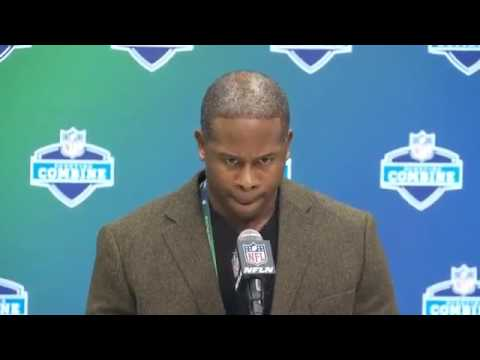 Denver Broncos Head Coach Vance Joseph At The Nflcombine Wednesday 1 March 2017
