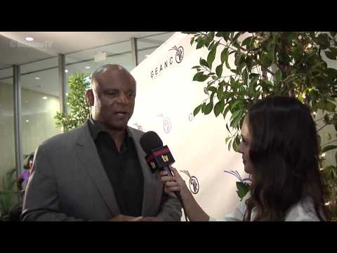 "Warren Moon Interview at Geanco Foundation's ""Impact Africa"" Benefit Event Pre ESPYs 2013"