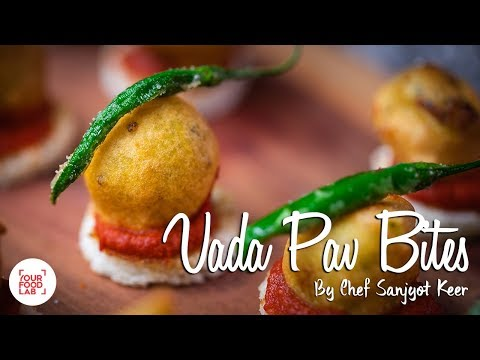Vada Pav Bites Recipe | Party Starter Recipe | Chef Sanjyot Keer