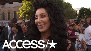 Cher Hilariously Admits She's Wearing The Wrong Bodysuit At The 'Mamma Mia 2' Premiere | Access