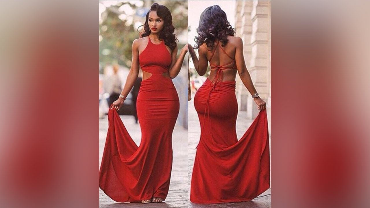 Red Prom Dresses, Affordable Long Prom Dress, Mermaid Formal Dresses with  Ruffles , Millybridal.org