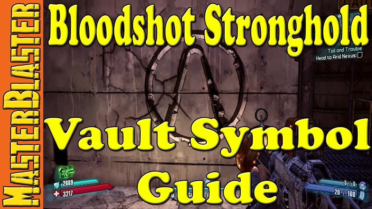 Borderlands 2 Bloodshot Stronghold Cult Of The Vault Symbols