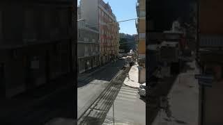 Via Molise: asfalto nuovo... su strisce appena fatte