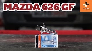 Как да сменим крушка на фаровете наMazda 626 GF ИНСТРУКЦИЯ | AUTODOC