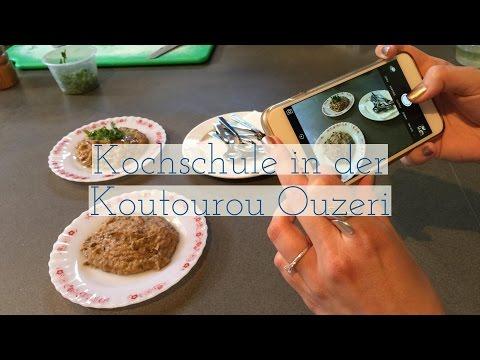 Kochschule in der Koutourou Ouzeri in Paphos, Zypern