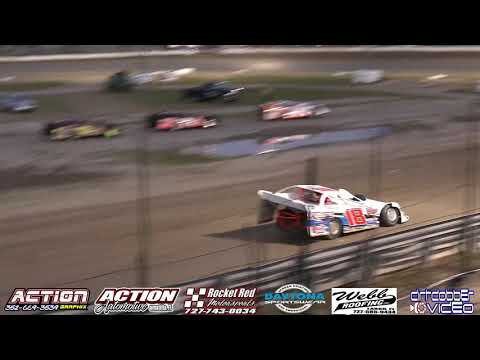 Florida Late Models Challenge Series Heat Races  North Florida Speedway 4/20/19