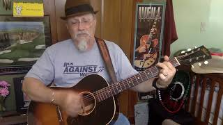 1298b -  Wake Up Little Suzie -  Everly Brothers cover -  Vocals -  Acoustic guitar & chords
